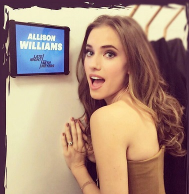 Credit: Allison Williams/Instagram