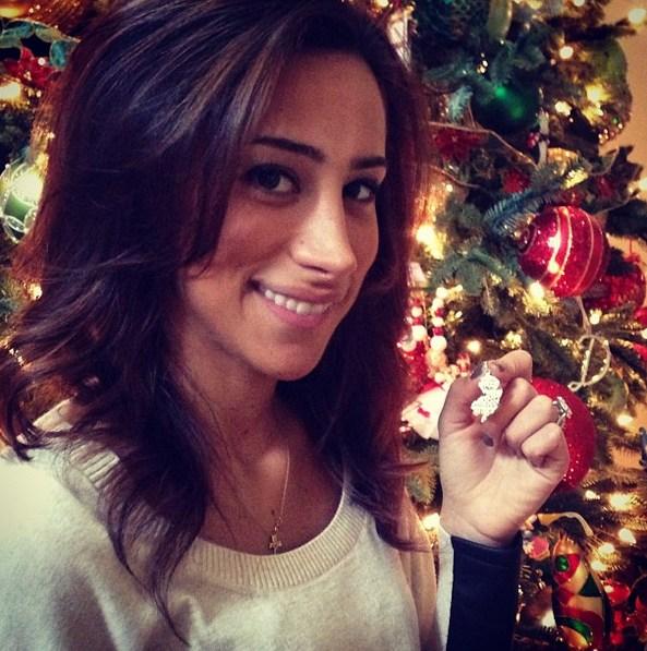 Danielle Deleasas 3 Carat Cushion Cut Diamond Ring