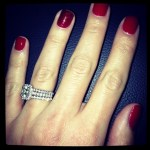 DeAnna Pappas' 2 Carat Asscher Cut Diamond Ring