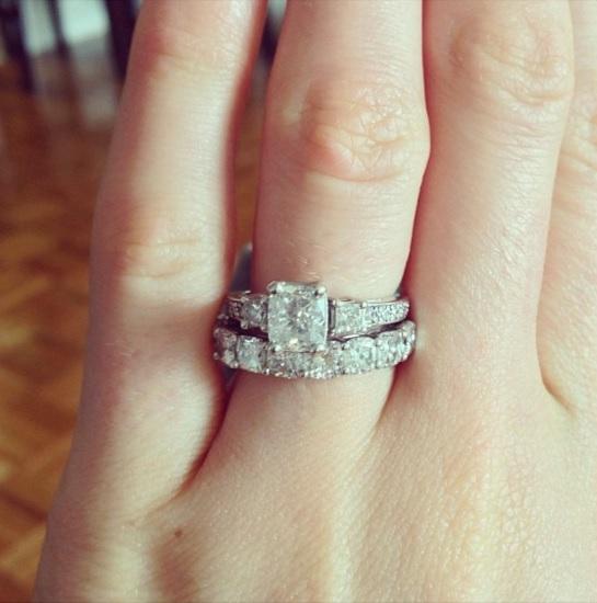 Katrina Bowden engagement