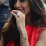 Shilpa Shetty's 20 Carat Round Diamond Ring