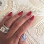 Alexis Bellino's 18 Carat Emerald Cut Diamond Ring