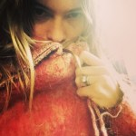 Behati Prinsloo's Antique Oval Diamond Ring