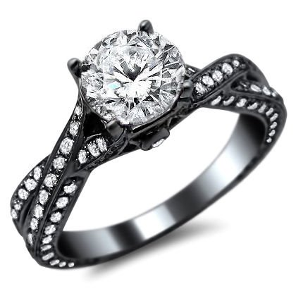 barkev engagement marquise black rings ring diamond s front