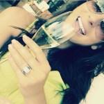 Luisa Zissman's 8 Carat Emerald Cut Diamond Ring