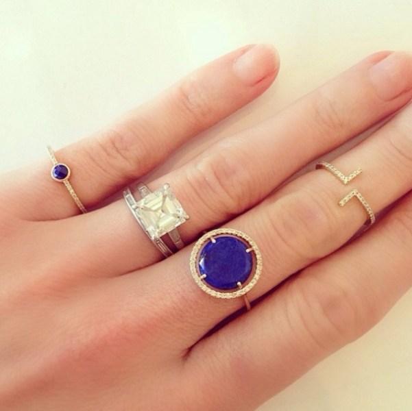 ... Kate Bosworth\'s Square Cut Diamond Ring