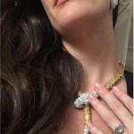 Liv Tyler's Emerald Cut Diamond Ring