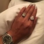 Princess Love's 8 Carat Cushion Cut Diamond Ring