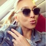 Elena Vesnina's Round Diamond Ring