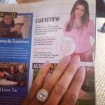 Noureen DeWulf's Cushion Cut Diamond Ring