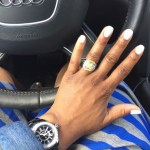 LaTosha Allen's Square Shaped Diamond Ring