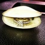 Lakyn Pennington's Square Shaped Diamond Ring