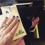 Paula Creamer's Round Cut Diamond Ring