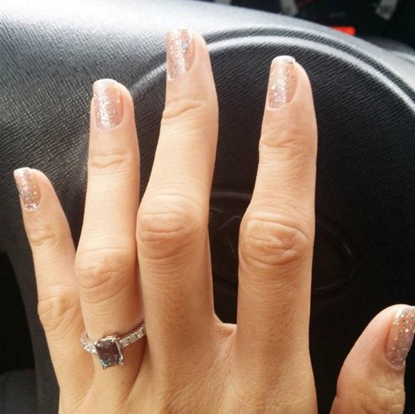Wendy Valdez' Emerald Cut Amethyst Ring