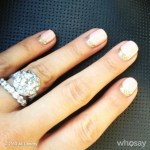 Ali Landry's Round Cut Diamond Ring