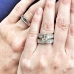 Francesca Litton's Emerald Cut Diamond Ring