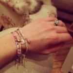 Izzy Johnston's Flower Shaped Diamond Ring