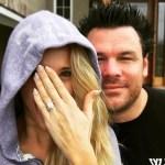 Jenna Michelle Straub's 11 Carat Pear Shaped Diamond Ring