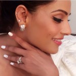 Bipasha Basu's Round Cut Diamond Ring
