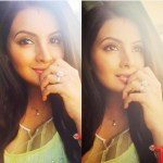 Geeta Basra's Round Cut Diamond Ring
