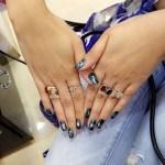 Leena Jumani's Round Cut Diamond Ring