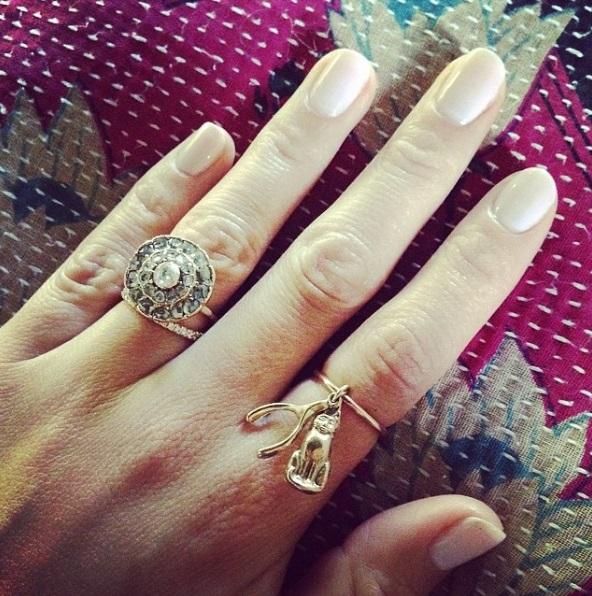 Cher Lloyds Square Cut Diamond Ring