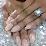 Gloria Govan's Oval Cut Diamond Ring