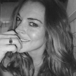 Lindsay Lohan's Cushion Cut Emerald Ring