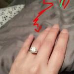 Rufa Mae Quinto's Round Cut Diamond Ring