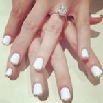 Ashley Spivey's Oval Cut Diamond Ring