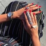 Xenia Deli's Round Cut Diamond Ring