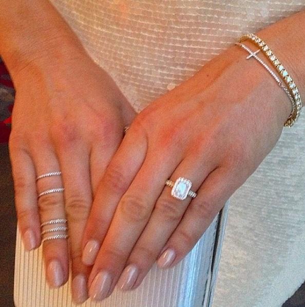 Becky Rochows Emerald Cut Diamond Ring