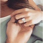 JoJo Fletcher's Oval Cut Diamond Ring