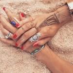Jurnee Smollett's Round Cut Diamond Ring