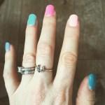 Sophie Ellis Bextor's Square Shaped Diamond Ring