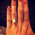 Betty Cantrell's Cushion Cut Diamond Ring