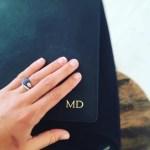 Mardi Harwood's Oval Cut Sapphire Ring
