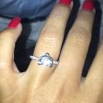 Sadie Stuart's Heart Shaped Diamond Ring
