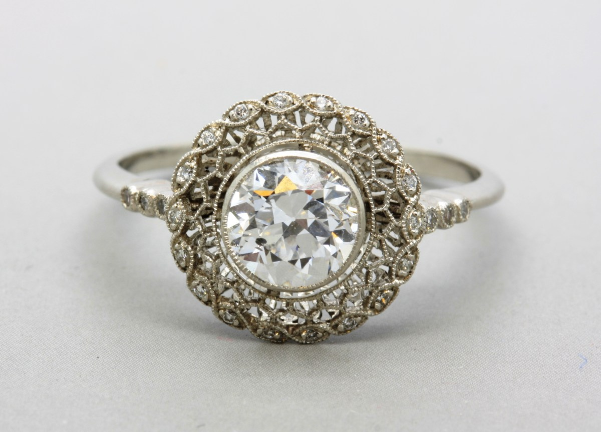 Art crafted engagement rings -  What You Need To Know About Art Nouveau Engagement Rings