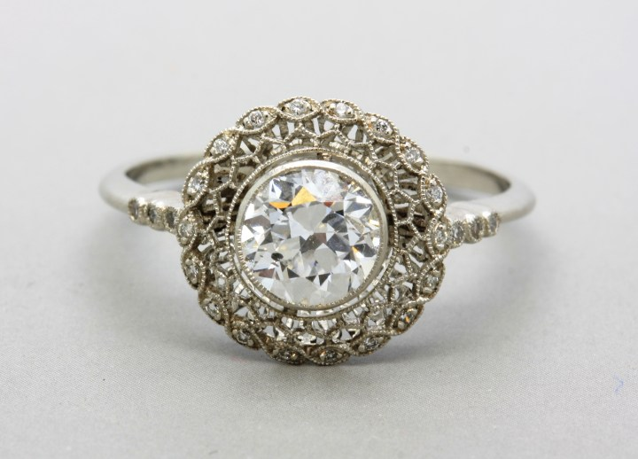 what you need to know about art nouveau engagement rings