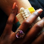 Annabel Onyango's Oval Cut Amethyst Ring