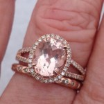 Melissa Gilbert's Oval Cut Diamond Ring