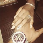 Yvonne Jegede's Emerald Cut Diamond Ring