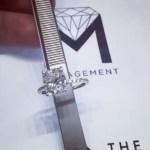 Ashlee Holmes's Square Shaped Diamond Ring