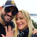 Brittany Daniel's 3 Carat Round Cut Diamond Ring