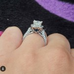 Brooke Wehr's Square Shaped Diamond Ring