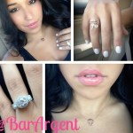 Dana Alexa's Round Cut Diamond Ring