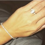 Kerrie Harris' Oval Cut Diamond Ring