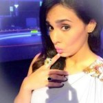 Mayanti Langer's Pear Shaped Black Diamond Ring