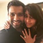 Ritika Sajdeh's Emerald Cut Diamond Ring